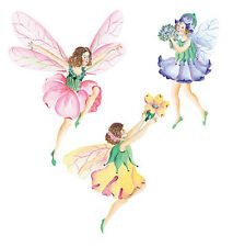 Fairy Princess Doll Wall Decor Stickers Decal Border 25 Wallies Wallpaper Cutout