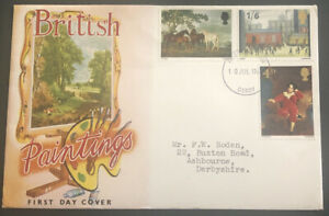 Great Britain FDC 1967 British Paintings