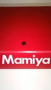 Mamiya 7 II / Mamiya 6 / MF6 body CALIBRATION CAP/COVER (NEW spare part)