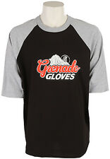 2015 NWT MENS GRENADE GLOVES GRENADEFEST ROCKY MENS RAGLAN $45 s black red white