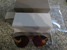 Christian Dior ReflectedP pink / gold frame sunglasses. New with box.