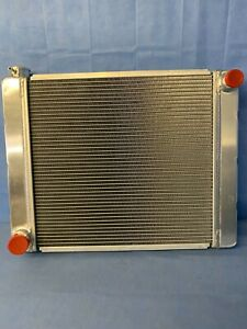 "New Universal Fabricated Aluminum Racing Radiator Ford/Mopar 24""x19""x3"""
