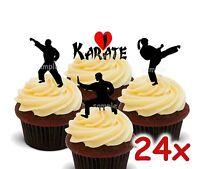 Karate Kampfsport Eßbar Tortenaufleger Party Deko Muffinaufleger Anzug neu dvd
