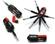 8 in 1 Multi Screwdriver Toolkit LED Torch flashlight screw driver