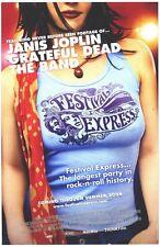 Festival Express movie poster : Janis Joplin, Grateful Dead - 11 x 17 inches