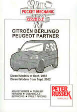 Citroen Berlingo / Peugeot Partner Diesel 96-04 w/shop
