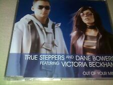 TRUE STEPPERS / VICTORIA BECKHAM - OUT OF YOUR MIND - UK CD SINGLE