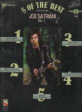 SPARTITO - JOE SATRIANI -5 OF THE BEST - VOL.1