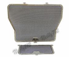 Radiator Oil Cooler Guard Cover Kit Black Fit BMW HP4 S1000R S1000RR S1000XR K10