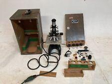 Unitron Metallurgical Microscope Mmu Series Interchange Acc No 34507 Vintage