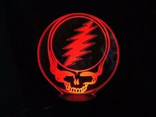 GRATEFUL DEAD LED COLORCHANGING STEAL YOUR FACE  LIGHT LAMP