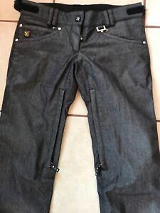 DC Snowboard Ski Snowmobile winter Pants Denim jeans. Women's s