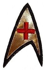 "Star Trek Original Series Medical Operations 3 1/4"" Tall Embroidered Patch"