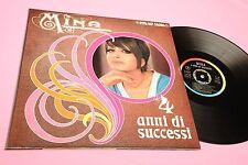 MINA LP 4 ANNI DI SUCCESSI ORIGINALE 1967 EX COPERTINA APR CARTONATA LAMINATA !!