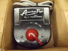 American Flyer 1950's 100 Watt Transformer #4 B Working Order In The Original Bx