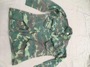 Vietnam ERDL Jacket non-ripstop Poplin Marine Special Forces Green Beret Recon