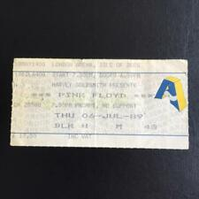 Pink Floyd London Arena  ticket 06/07/89 no M43