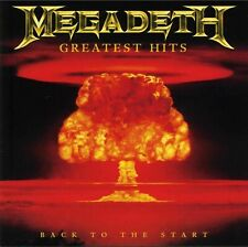 MEGADETH - GREATEST HITS : BACK TO THE START CD ~ DAVE MUSTAINE ~ BEST OF *NEW*
