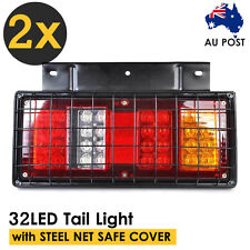 2X 12V LED Tail Lights Trailer Caravan Ute Truck Red Stop Reverse Indicator AU