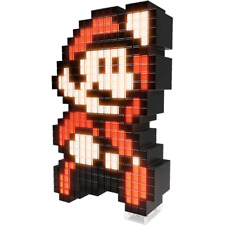 Mario Pixel Pals 8-Bit Light Up Decoration - Loot - BRAND NEW