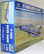Trumpeter 1:32 02232 F-100D Super Sabre Model Aircraft Kit