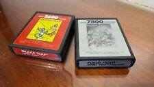Mouse Trap & Food Fight - Atari (2600 & 7800)