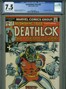 Astonishing Tales #26 - October, 1974 - CGC 7.5 (Classic Deathlok cover!)