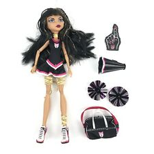 New listing Monster High Doll Fearleading Squad Cleo De Nile Cheerleading Doll