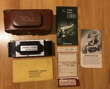 f3.5 Stereo Realist 3D Camera, With Leather Case And Instructions.