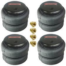 """4 standard 2500lb air bags suspension part single 3/8""""npt port air spring"""