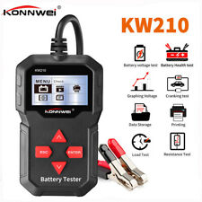 Konnwei KW210 12V Car Battery Load Tester 100-2000 CCA Car Battery Analyzer