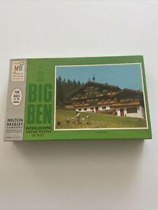 Milton Bradley Big Ben Puzzle Austrian Home 1000 Piece Jigsaw Puzzle