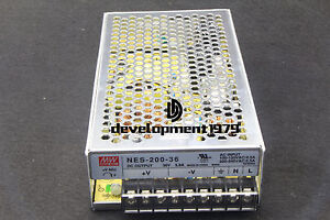 1PC Meanwell NES-200-36 Power Supply New