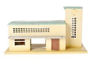 AC1943:Vintage Continental O Gauge Station on Platform for Refurbishment