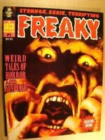 FREAKY 1 EERIE CREEPY FAMOUS MONSTERS *NM/MT 9.8* *SEALED* VIRGIL FINLAY ART