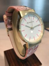 Accessorise Ladies Watch - Floral Strap - Mint Boxed