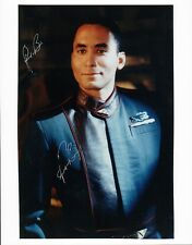 Only One! Richard Biggs (1960-2004) Babylon 5 8x10 Irregular Signature