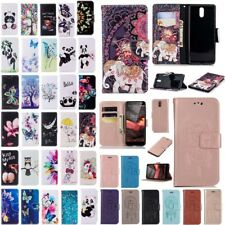 Patterned Flip Leather Wallet Card Slot Case Cover For Nokia 2.1 3.1 5.1 2018
