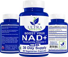 Nicotinamide Riboside NR Pharmaceutical Grade, boost NAD+ like Niagen, 300mg