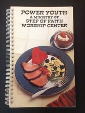 Step of Faith Worship Center Power Youth Cookbook Cook book 1990s spiral church