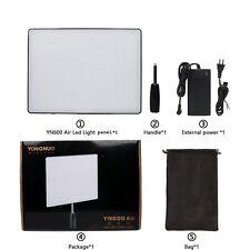 NEW YONGNUO YN600 Air 3200K-5500K LED Camera Video Light + AC Power Adapter