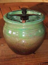 Vintage ROYAL WINTON Duncan laiton surmonté SCELLABLES Jar. biscuit? Boîte à thé???