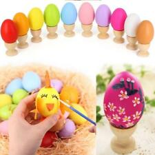 12 PCS Plastic Fillable Easter Eggs In Assorted Colours Toy Party Decorations