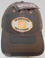 New 2008 NASCAR TONY STEWART THE HOME DEPOT ADJUSTABLE HAT CAP JOE GIBBS RACING
