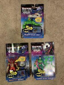 Batman knight force ninjas Azrael Killer Croc Riddler Hasbro 1998