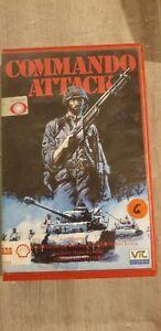 COMMANDO ATTACK (1968) italian war BIG BOX VHS