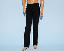 CLASSY Black Cotton Versatile Pants Slacks for KEN Genuine BARBIE Fashion