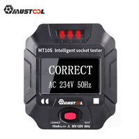 MUSTOOL US Socket Outlet Tester Circuit Polarity Voltage Frequency RCD Detector