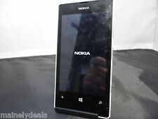 Nokia Lumia 521 White 8gb T-Mobile Unknown ESN Status Used AS-IS Tested Working