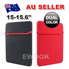 "Waterproof Laptop Notebook Bag Sleeve Carry Case For MacBook Air Pro 15"" 15.6"""